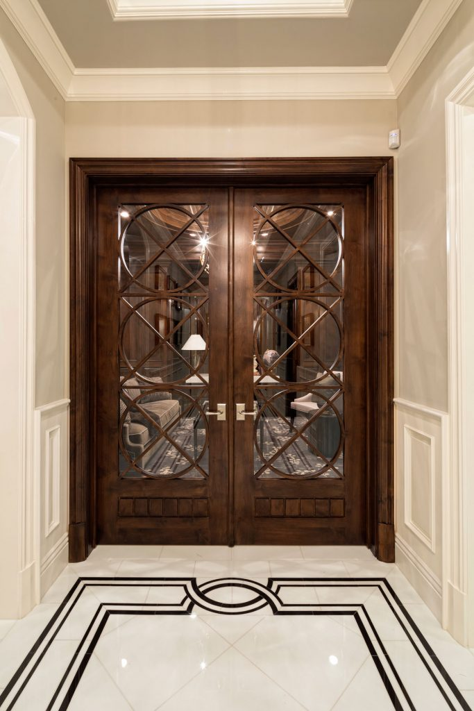 Brentwood Study Doors