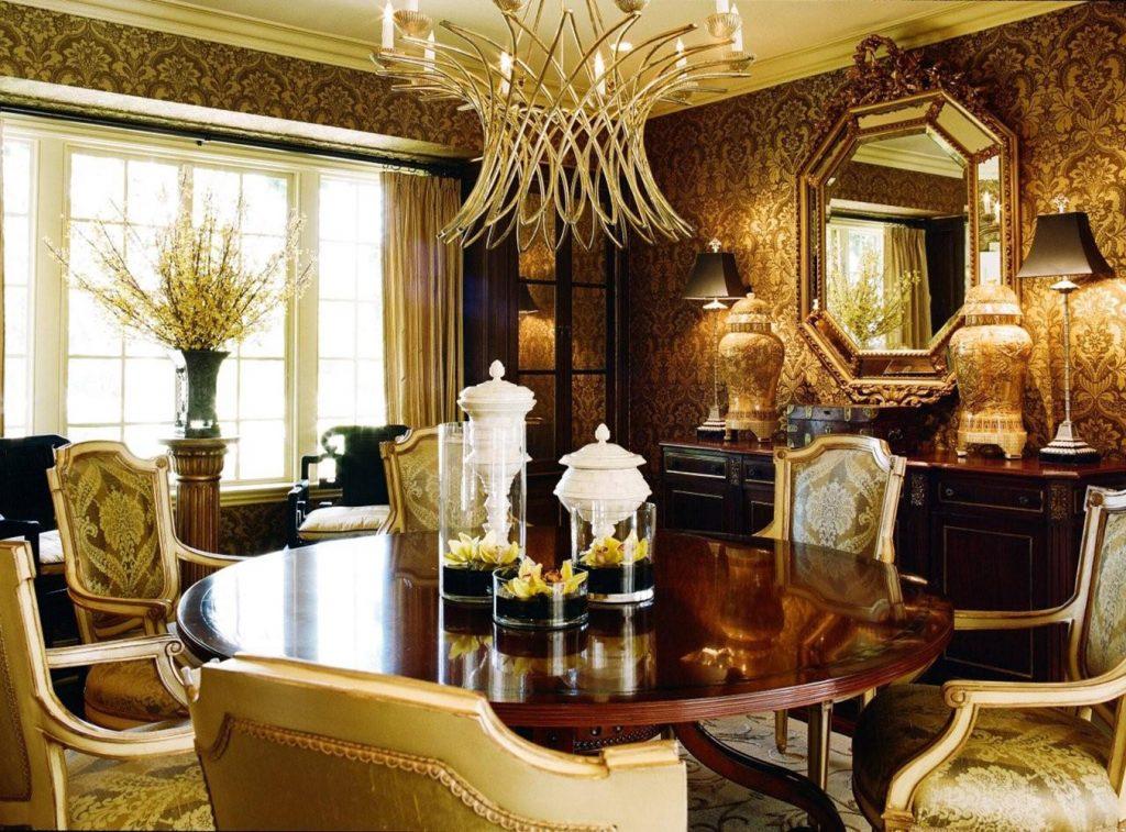 Hancock Park Dining Room - Jennifer Bevan Interiors