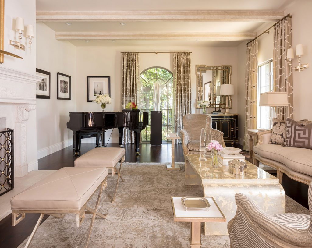 Santa Monica Living Room - Jennifer Bevan Interiors