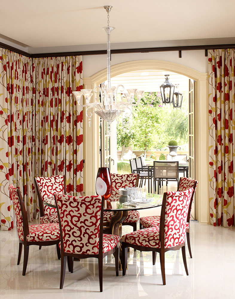 Beverly Hills Breakfast Room - Jennifer Bevan Interiors