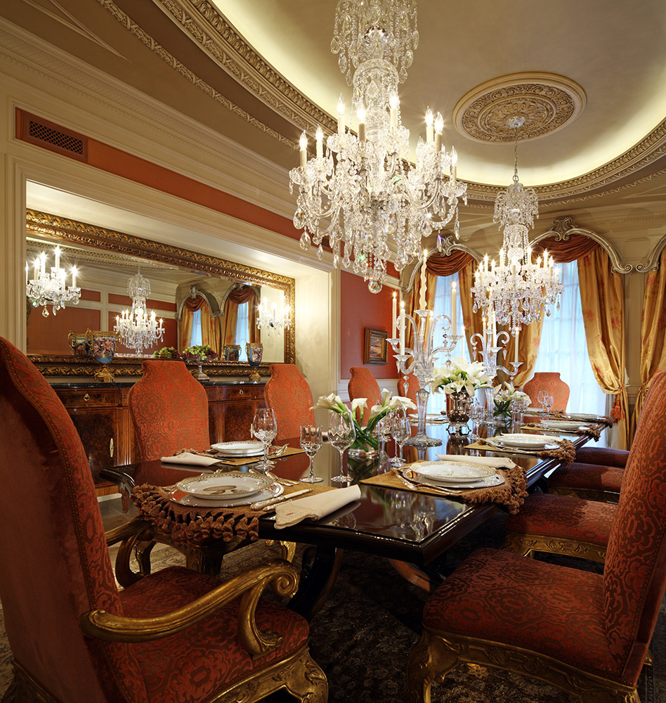 Beverly Hills Dining Room - Jennifer Bevan Interiors