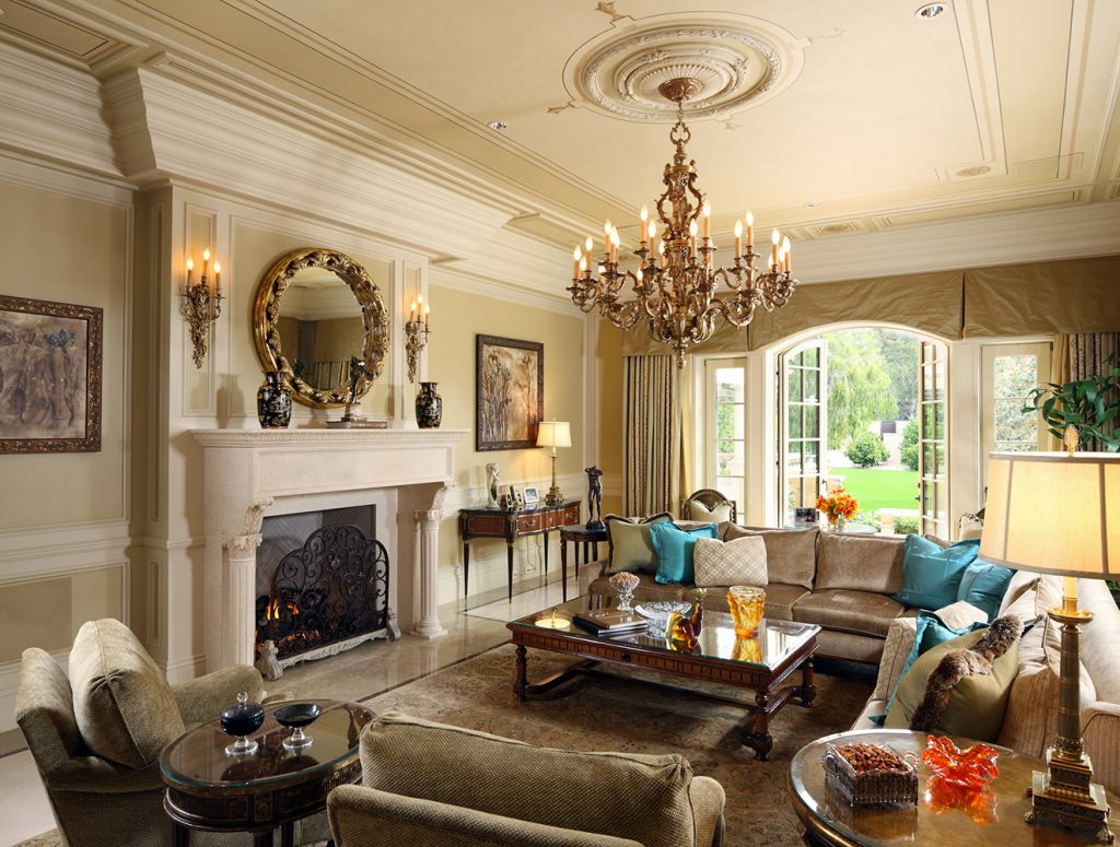 Beverly Hills Family Room - Jennifer Bevan Interiors