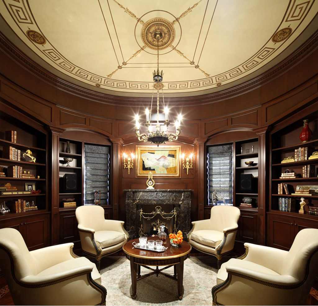 Beverly Hills Library - Jennifer Bevan Interiors