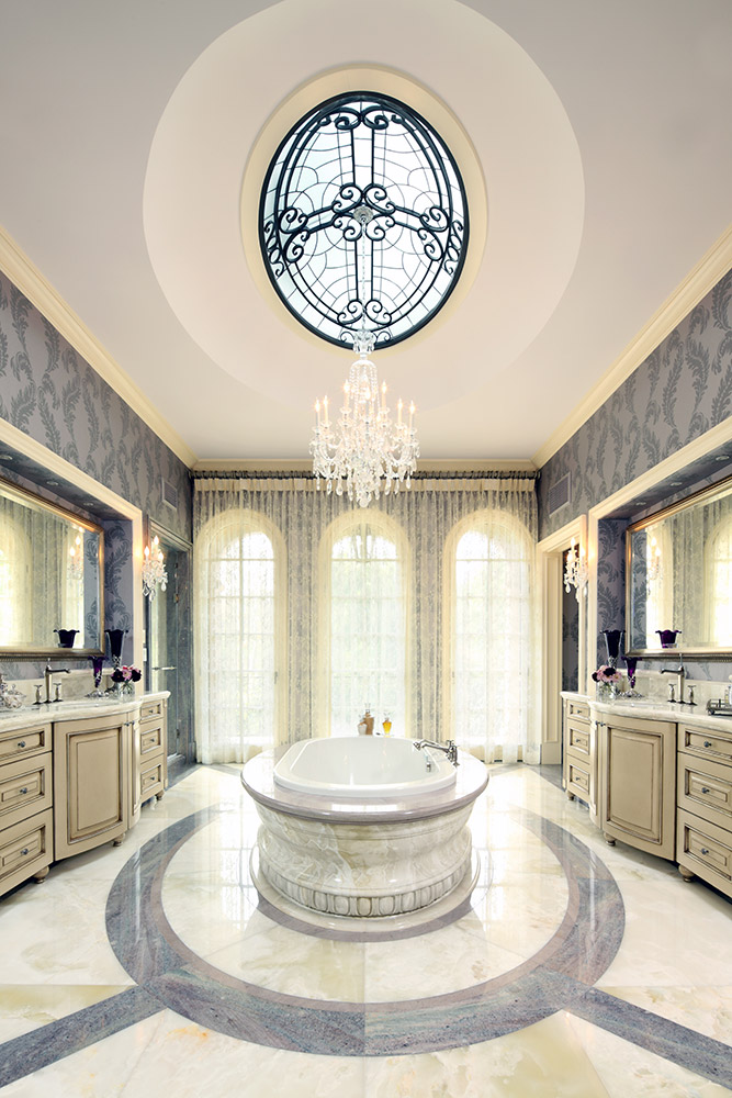 Beverly Hills Master Bathroom - Jennifer Bevan Interiors