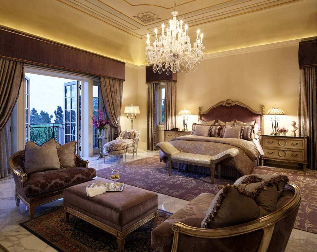 Beverly Hills Master Bedroom - Jennifer Bevan Interiors