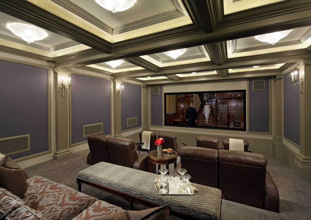Beverly Hills Theatre - Jennifer Bevan Interiors