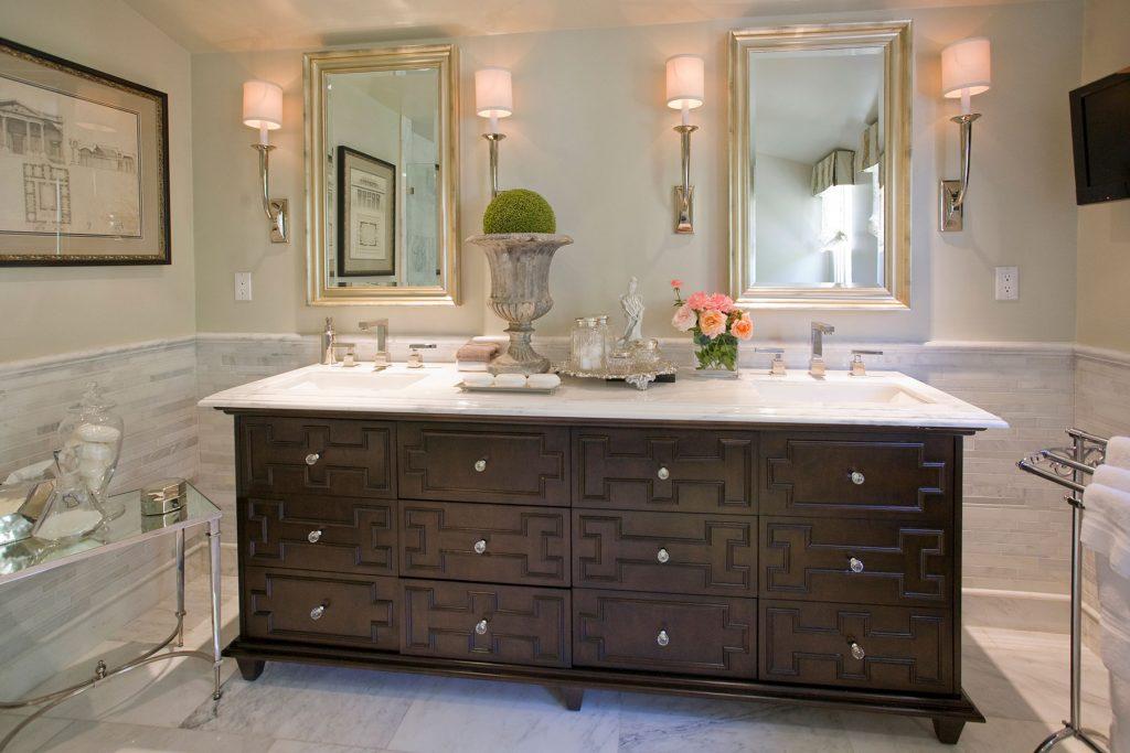 San Marino Master Bath - Jennifer Bevan Interiors