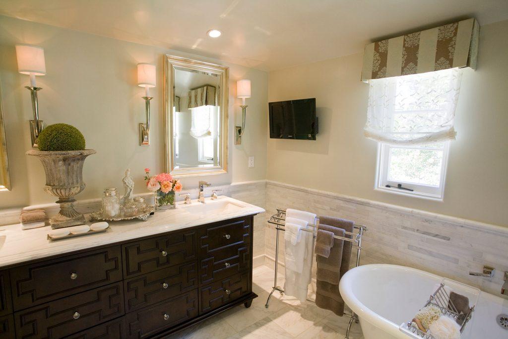 San Marino Master Bath 2 - Jennifer Bevan Interiors
