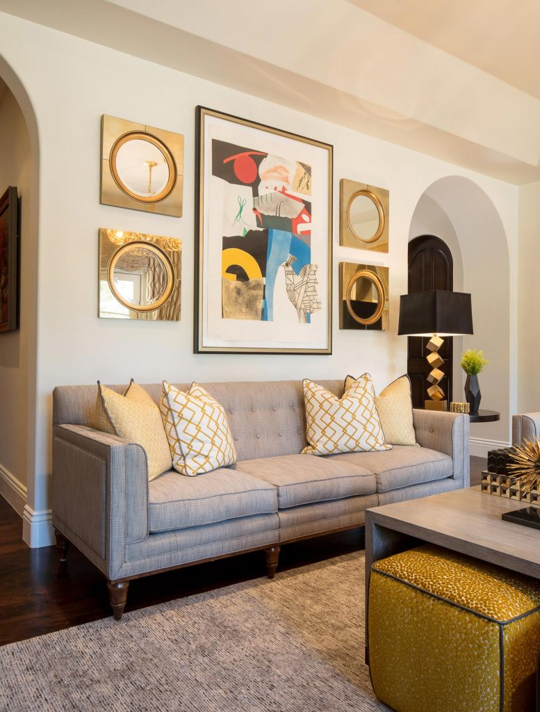 Santa Monica Family Room - Jennifer Bevan Interiors