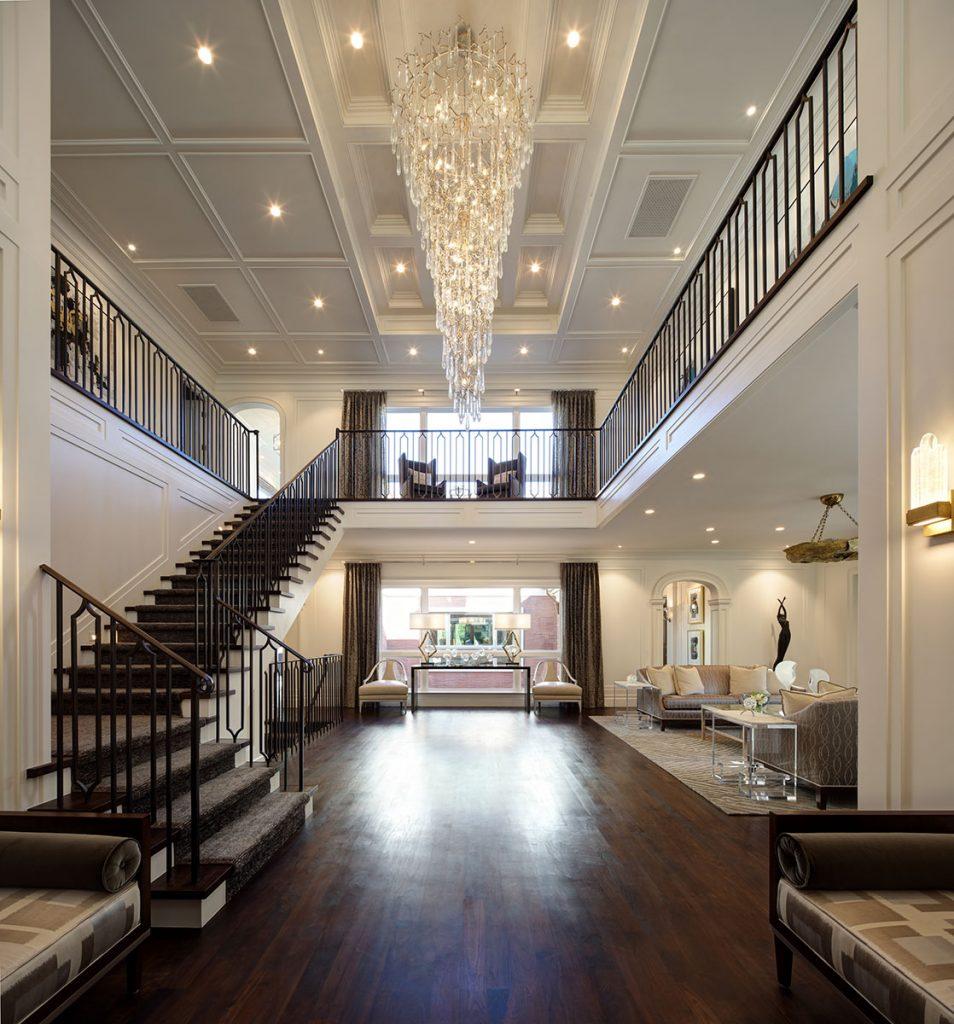 West LA Entry Hall - Jennifer Bevan Interiors