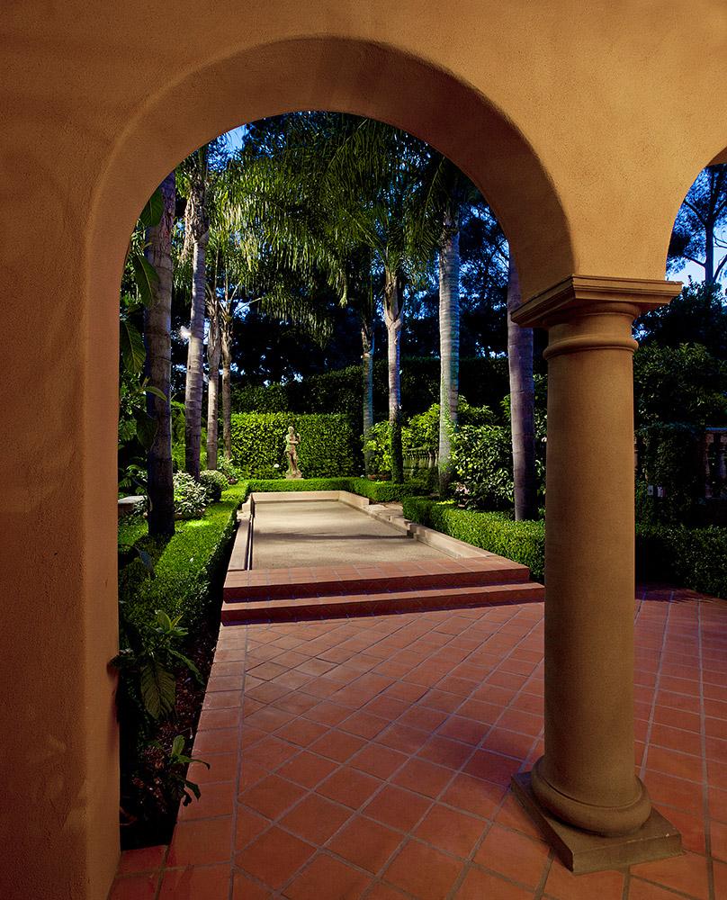 Montecito Bocce Court - Jennifer Bevan Interiors