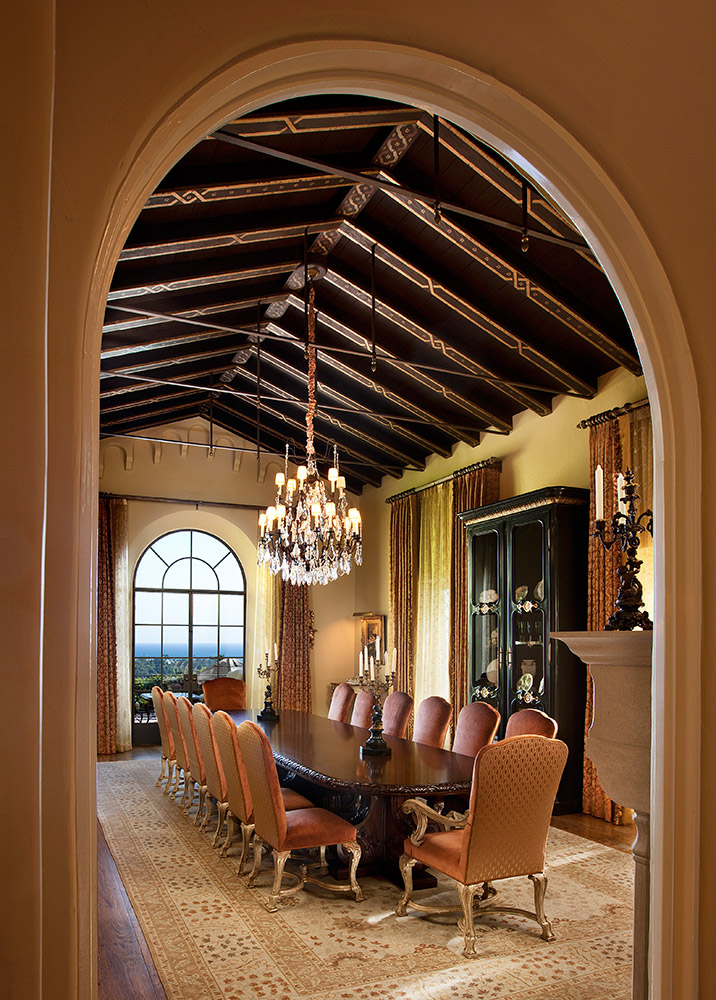 Montecito Dining Room - Jennifer Bevan Interiors