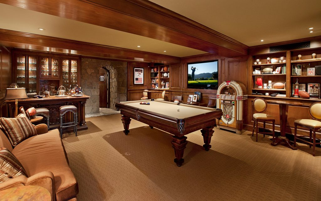 Montecito Game Room - Jennifer Bevan Interiors