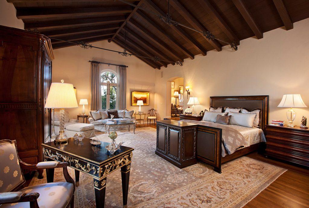 Montecito Master Bedroom - Jennifer Bevan Interiors