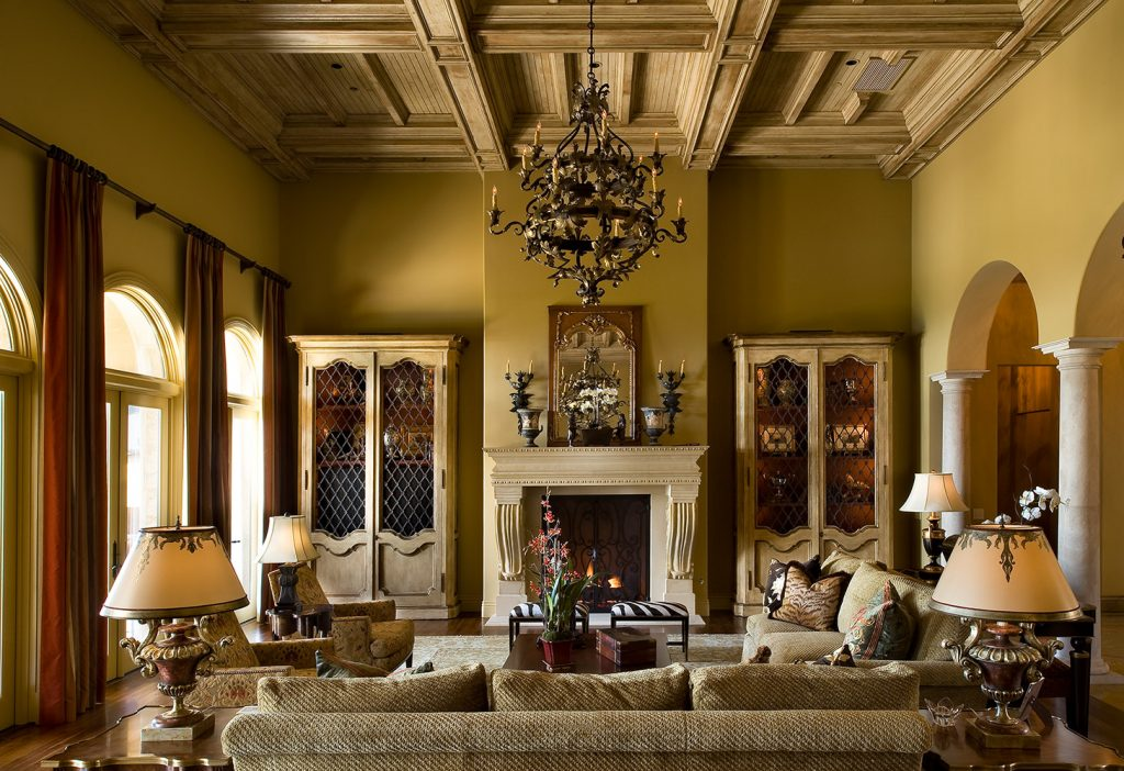 Santa Barbara Family Room - Jennifer Bevan Interiors