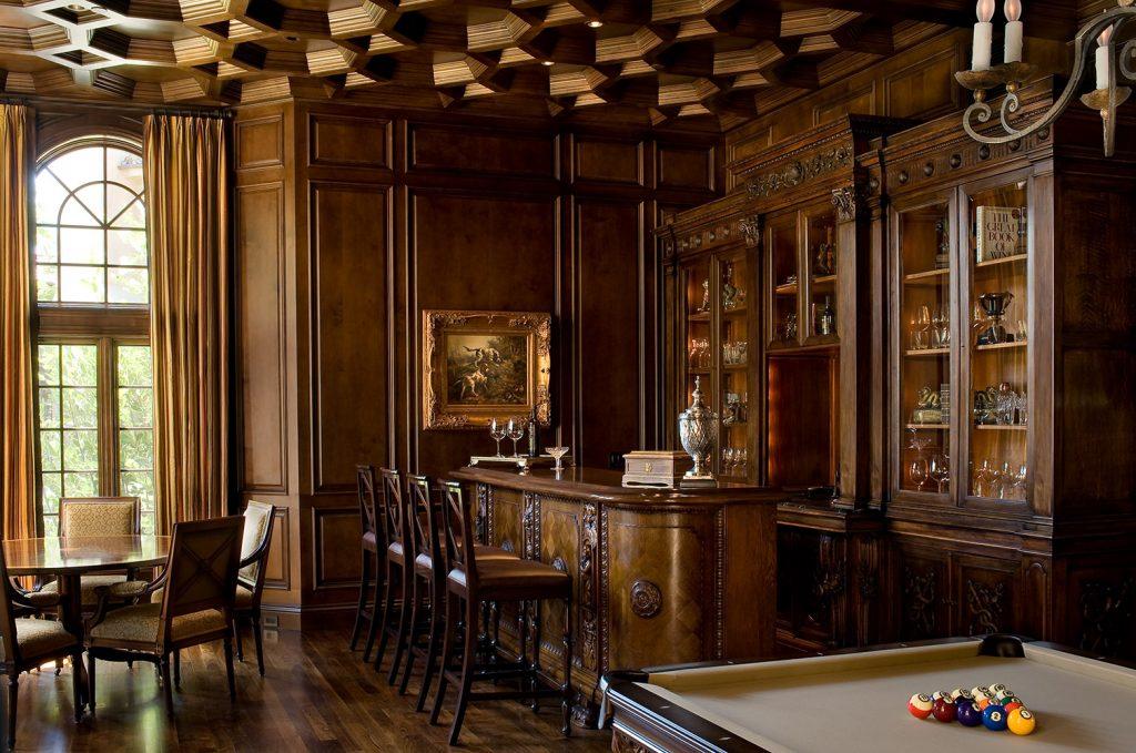 Santa Barbara Game Room - Jennifer Bevan Interiors