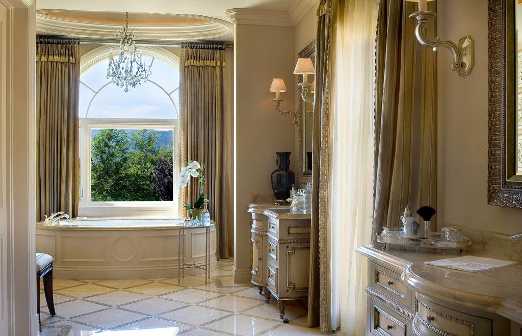 Santa Barbara Master Bath - Jennifer Bevan Interiors