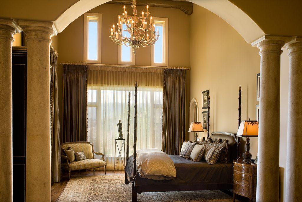 Santa Barbara Master Bedroom - Jennifer Bevan Interiors